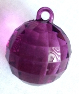 Picture of AC302P 25mm PURPLE acrylic crystal ball