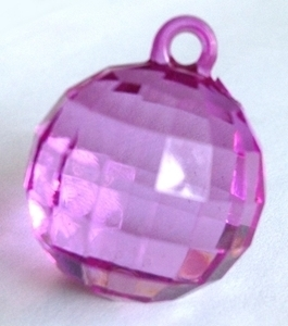 Picture of AC302V 25mm VIOLET acrylic crystal ball
