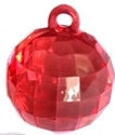 Picture of AC302R 25mm RED acrylic crystal ball
