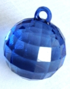 Picture of AC302B 25mm BLUE acrylic crystal ball