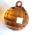 Picture of AC302A 25mm Amber Acrylic Crystal Ball