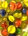 Picture of MM143 16MM Clear with various colored swirls
