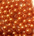 Picture of BD8R3  8mm GOLD round plastic beads
