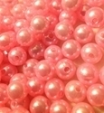 Picture of BD10R4A 10mm LIGHT PINK round plastic beads