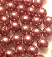 Picture of BD10R13A 10mm LIGHT BROWN round plastic beads