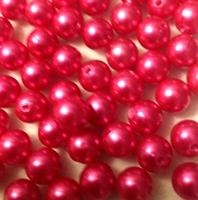 Picture of BD12R4B  12mm HOT PINK round plastic beads