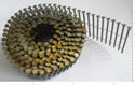 "Picture of NN105 - 15° 2.25"" x.099 Bright Screw Nail -  (Flat Coil, Wire Collated) 9000 nails in cartin, 35 cartins in Pallet"