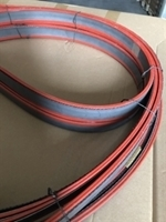 "Band Saw Blade Replacement  21'11"" - Bi metal M42 Cobalt 8%, 34 x1.1mm(1-1/4 x .042 in.) 5/8 TPI (Back quality X32 Cr 4. 270 gr./m)"