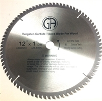 Picture of TCC280  12IN 80 Tooth Tungsten Carbide Tipped WOOD Cabinet Saw Blade
