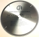 Picture of TCC4100  14-in. 100 Tooth - Tungsten Carbide Tipped Saw Blade Wood Cabinet