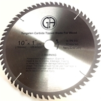 Picture of TCC160  10-in. - 60 Tooth - Tungsten Carbide Tipped WOOD Cabinet Saw Blade