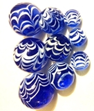 Handmade Marbles  -  Discount Sale prices - Save even more when you buy in bulk.  Beautiful and collectible.