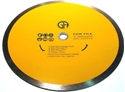 """Picture of DB3743 10"""" Continuous Rim Diamond Blade for TILE"""