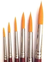 Picture of ART207  sable hair paint brush 6pc set round style