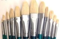 Picture of ART720  Bristle Hair Filbert Style Paint Brush Set 12pcs