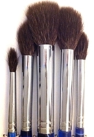 Picture of ART1135L  Squirrel Hair Oval Wash Round Style Paint Brush Set. 5pcs