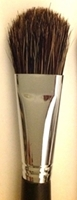Picture of ART6142  Bristle Hair Paint Brush 3pc Piece Set Flat Style
