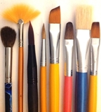 Paint Brushes - Angular,Fan,Filbert,Flat,Round,Paint Brush Sets