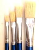 flat paint brush sets