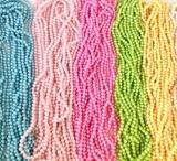 Necklaces – Lavender, Blue, Pink & Rainbow 8MM