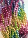 "Picture of BD8RRBNK 8MM Rainbow Colors Necklaces 32"" - 10pcs"