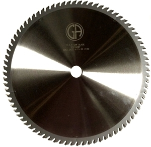 """Picture of TC1280WP 12"""" Industrial Laser Cut Carbide Saw Blade for WOOD, 80 Tooth"""
