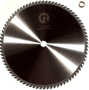 "Picture of TC1480NP 14"" Industrial Laser Cut Carbide Saw Blade for WOOD with Nails, 80 Tooth"