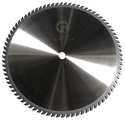 "Picture of TC1680NP 16"" Industrial Laser Cut Carbide Saw Blade for WOOD with Nails, 80 Tooth"