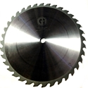 "Picture of TC1636NP 16"" Industrial Laser Cut Carbide Saw Blade for WOOD with Nails 36 Tooth"