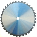 "Picture of TC1436NP 14"" Industrial Laser Cut Carbide Saw Blade for WOOD with NAILS, 36 Tooth"