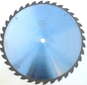 """Picture of TC1836NP 18"""" Industrial Laser Cut Carbide Saw Blade for WOOD with Nails, 36 Tooth"""