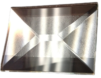 Picture of B152W 1.5 x 2  3/4 bev on 6mm bevel