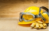 Safety Products dust masks , gloves, goggles, ear plugs
