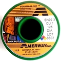 """Picture of SA99 Amerway Tourmaline Lead Free Solder 1/8"""" solid wire for stained glass and jewerly"""