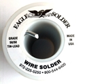 """Picture of SE50 Eagle Solder 50/50 Solder 1/8"""" solid wire for stained glass"""