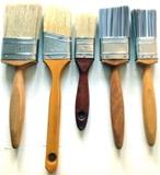 Paint Brushes-Nylon Straight & Angled